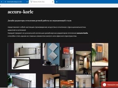 Angular - Ecommerce website