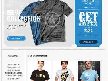 T-Shirt Online Shop