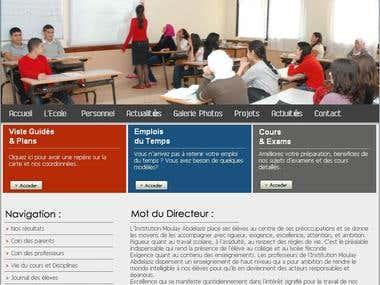 School Webinterface