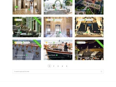 Wedding Venue Search and Reservation