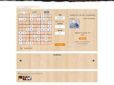 Website built using CodeIgniter framework