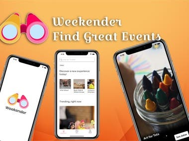 Weekender - Find Great Events