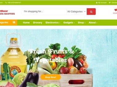 a2zhutbazar-Online Grocery Shop