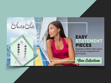 Google Display Banner Ad for Jewelry Company