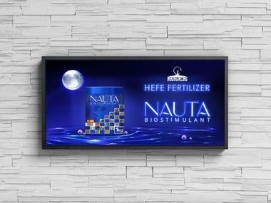 Nauta Advertisement Design .