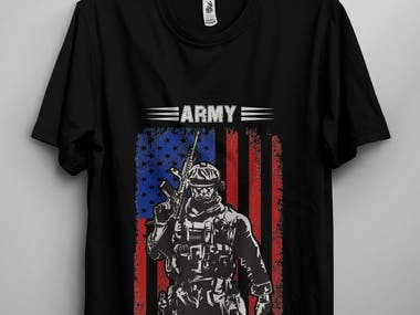 ?US Army / Soldiers / Military T-Shirt Design Bundle ?