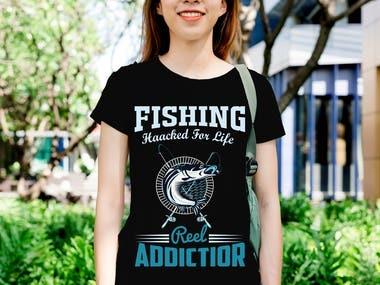 ?Fishing T-Shirt Design Bundle?