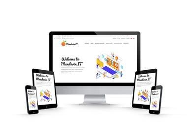 Website for Mandarin IT