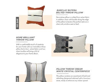 Home accessories catalog
