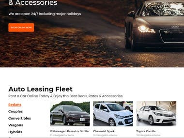 Car-rental with Laravel.