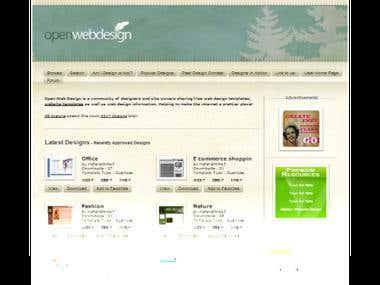 Openwebdesign - Online Web Design & Templates Website