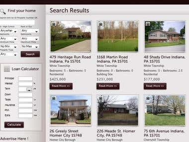 Real Estate in Wordpress