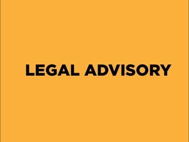 Legal Advisory