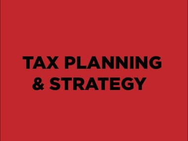 Tax Planning & Strategy