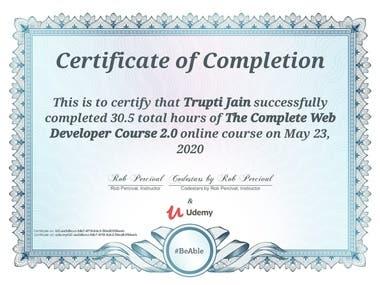 Web Development Certification