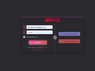 Mniflix Video Streaming