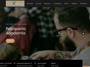 Hair Salon Corporate Web