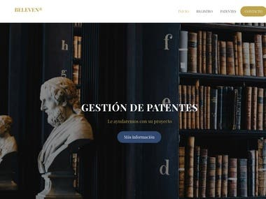 Patents and Trademarks company website