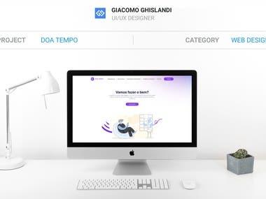 Non-profit Website - Doa Tempo