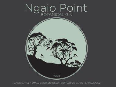 Sticker for Gin company