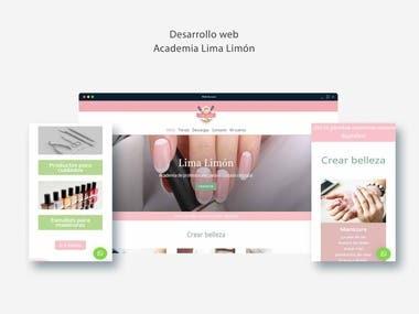 Desarrollo pagina web wp