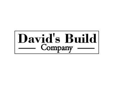 Logo David's Build Company