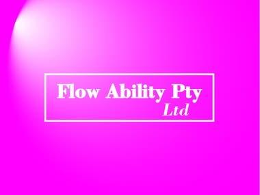 Logo Flow Ability Pty Ltd