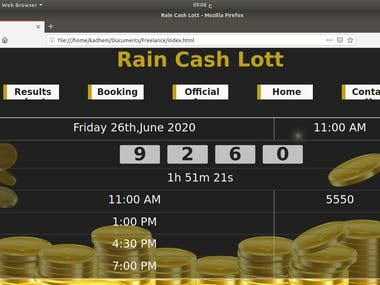 Rain Cash Lott