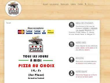 Website www.jopizza.ch