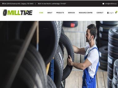 Tyre company website
