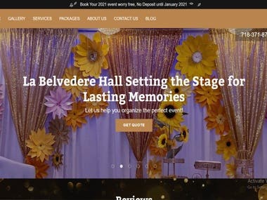 Banquet Hall booking System