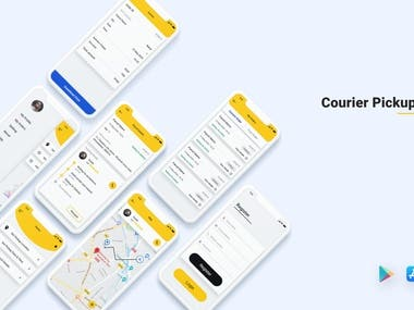 CourierPickup & Delivery App
