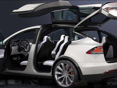 Car 3D Max Design