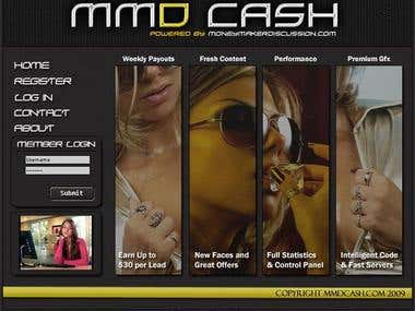 MMD Cash Website