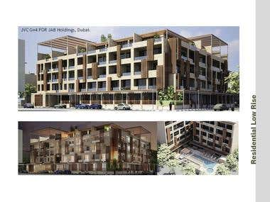 Design and planning of Residential Building UAE