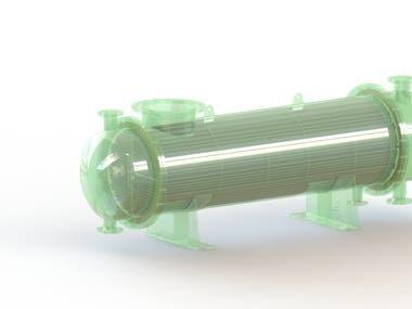 Heat Exchanger 3D Design and detail Engineering