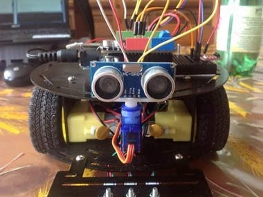 An obstacle avoidance robot