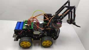 smart RC robot car arm robot