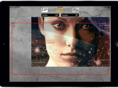 artwork site using konva.js