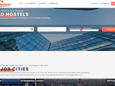 Hostel/ Hotel Booking Application Pakistan
