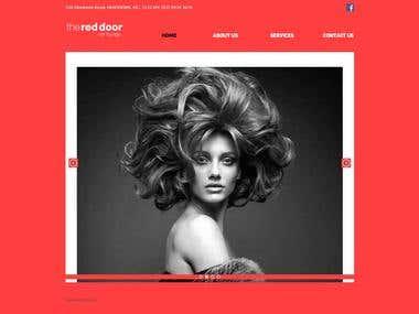 Reddoorhair Lounge Website