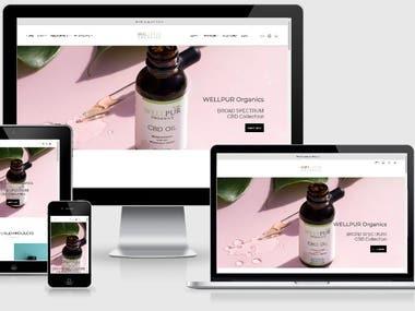 WP/Woo-Commerce Website