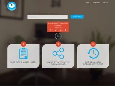 Laravel Movein Website