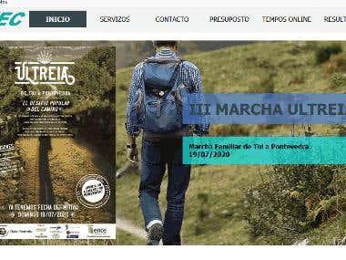 Página web de Cronotec