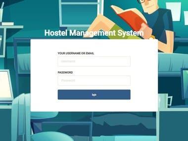Hostel Management Portal