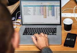 Data Entry salary sheet sample of previous work