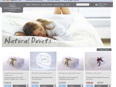 Fine Bedding a retail company