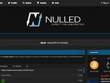 Bot for www.nulled.to forum