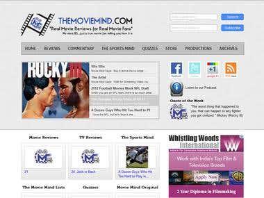 TMM - WordPress Website
