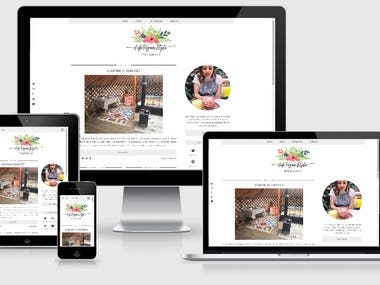Life Style WordPress Blog
